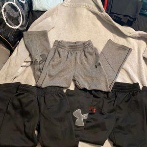 Under Armour 5t Boys Jogger Pant Bundle